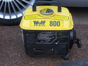Wolf Power 800 Petrol Generator