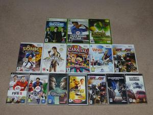 XBOX / WII / PSP Games