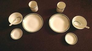 2 sets of Burlington fine porcelain oriental dinner set - 5