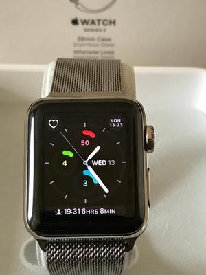 Apple Watch series 2 stainless steel edition