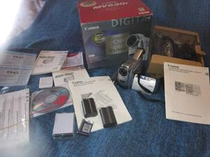 CANON MV630i HD video camera camcorder mint condition AS NEW