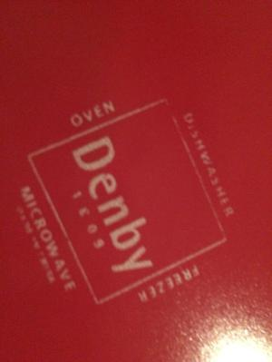 Denby 20 piece dinner service - red