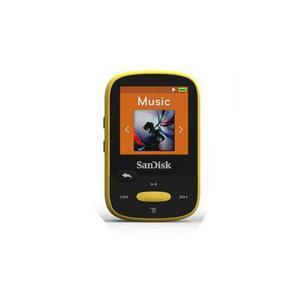 NEW SanDisk SDMXG-A4 6Y Clip Sport 8GB MP3 Player Ylw