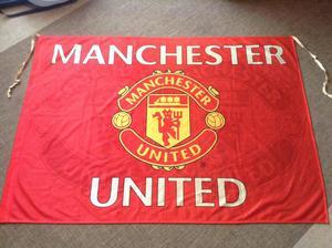 Official Manchester United Banner Flag