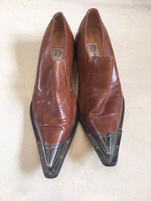 Pair of Gucinari Fashion Shoes. Size 44.