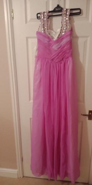 Pink Dress/Ball Dress - Size 8 - Brand New