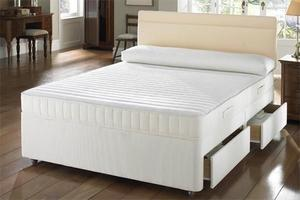 ***SAME DAY FAST DELIVERY** Brand New Double Divan Base With Orthopedic Mattress