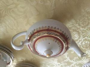Salisbury Sarum Pattern Bone China Tea Set