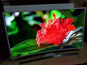 "Samsung UE48J Curved 48"" 4K Ultra HD Smart Freeview Freesat HD LED"