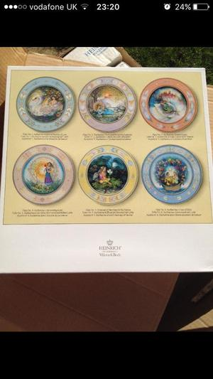 Set of 6 Villeroy and Boch plates