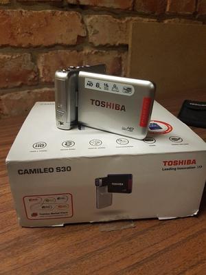 Toshiba Camileo S30 full hd 8mp video cam corfer camera