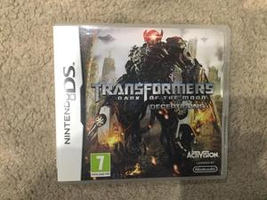 Transformers Dark Of The Moon Deceptions DS Game