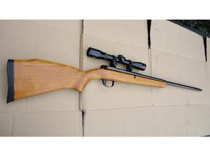 WEBLEY & SCOTT.22 OSPREY SIDE LEVER AIR RILE WITH SCOPE in
