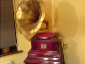 's Gramophone (Replica) in Royston