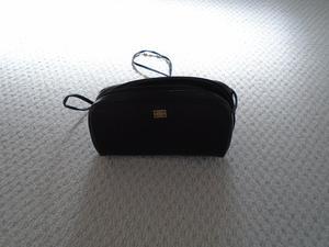 s vintage Givenchy black leather handbag