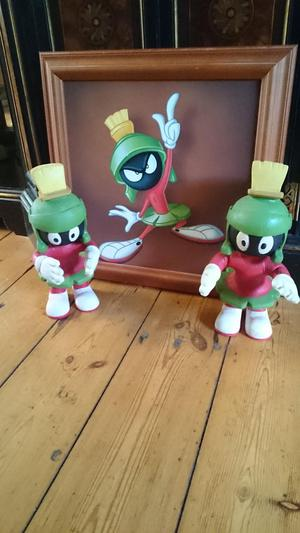 2 Vintage marvin the Martian and warner bros picture