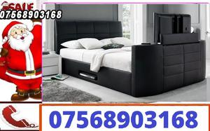 BED BOXING DAY TV BED AND ELECTRIC BED WITH STORAGE AND MATTRESS 9