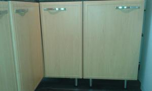 BEECH EFFECT KITCHEN UNITS FOR SAKE