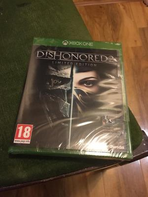 Dishonoured 2 limited edition sealed new Christmas gift