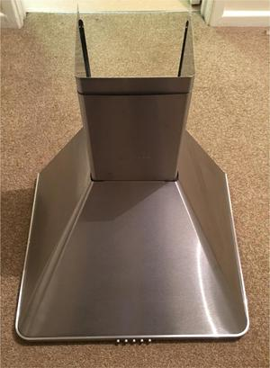 Hotpoint chimney Cooker Hood - Stainless Steel - NEW