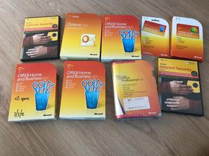 Job lot of Microsoft Office and Norton