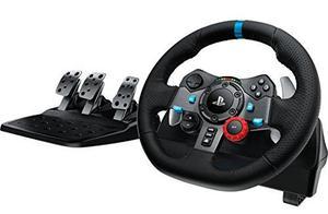 Logitek G29 steering wheel and pedals