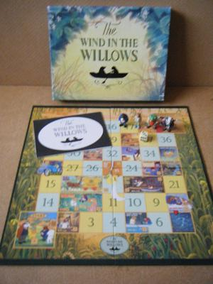 Lovely (Wind in the Willows) board game. Reader's Digest . Complete.