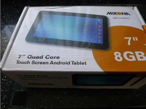 "MIKONA 7"" ANDROID TOUCH SCREEN QUAD CORE TABLET--NEW & BOXED"