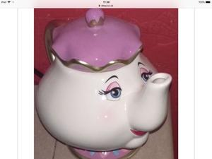 New sealed in box Disney beauty beast mrs Potts working teapot bargain £30 sold out in uk see pictur