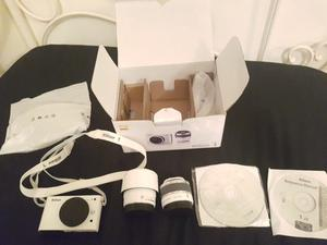 Nikon j2 camera with changeable lenses