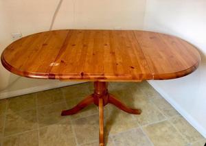 Pine Folding Kitchen table