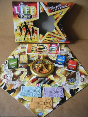 The Game of Life, Fame edition board game. Complete in great condition from .