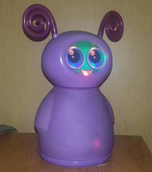 Unboxed mattel purple talking robot