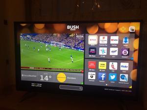 40 inch 4K ultra Hd smart led tv.FEW WEEKS OLD.BUSH.LEDUHDFVP. £270 NO OFFERS CAN DELIVER