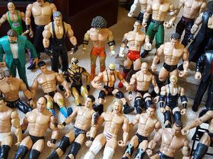 50+ Wrestlers & accessories