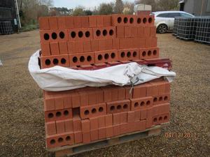 500 Red Bricks. New