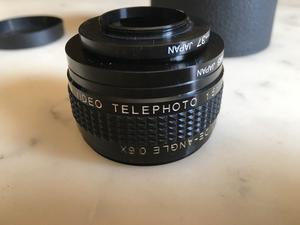 AICO 2-in-1 Telephoto / Wide Angle Lens 1.5x & 0.6x mm
