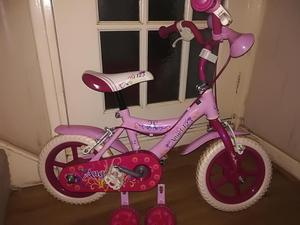 Angel 12 girls bike (age 3-5)