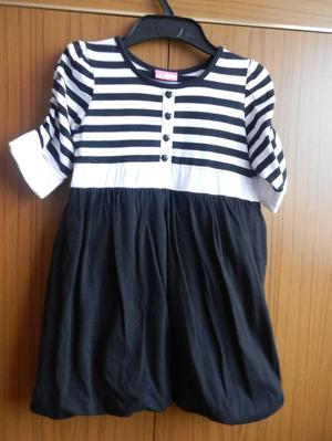 BHS Black and White Dress Top