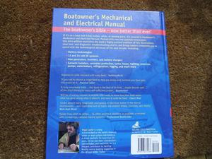 BOAT OWNERS MANUAL - MECHANICAL AND ELECTRICAL NIGEL CALDER