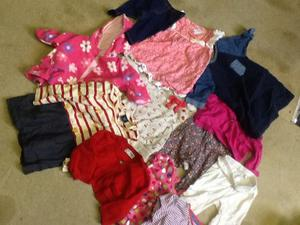 Baby girls clothes- new born to 2 years