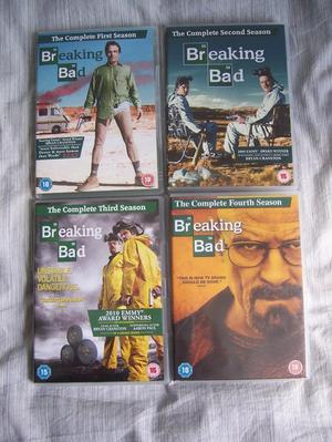 Breaking Bad all 4 Seasons. Bargain.