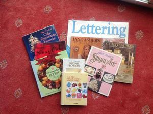 Cake decorating books - Mitcham