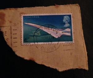Concorde stamp