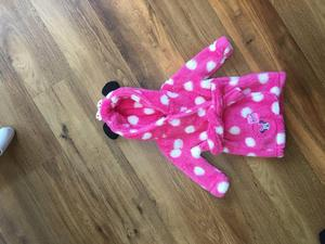 Disney Minnie Mouse dressing gown