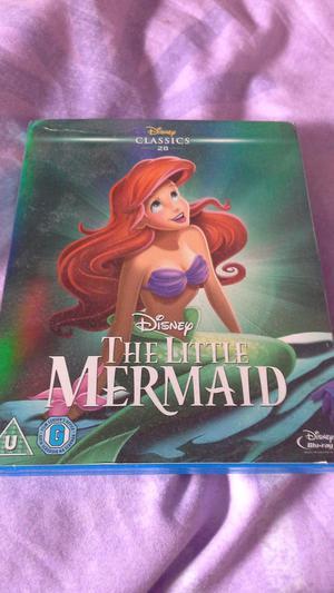 DisneyThe LittleMermaidBlu-ray
