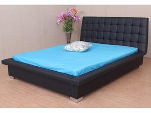 Double Missouri Stylish Faux Leather Bed SALE