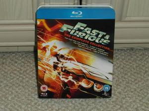 Fast and Furious the complete collection 1-5 on Blu-ray(new)