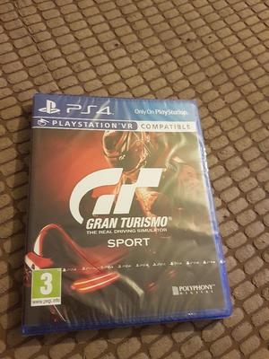 Gran Tourismo Sport for PS4 (Sealed)
