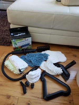 H2O steam mop accessories